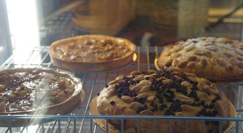 フィレンツェのパン屋さん