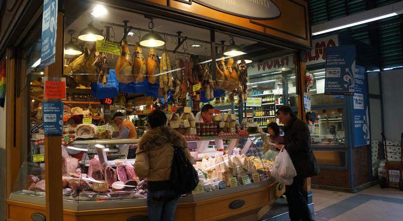 フィレンツェの朝市、サンタンブロージョ