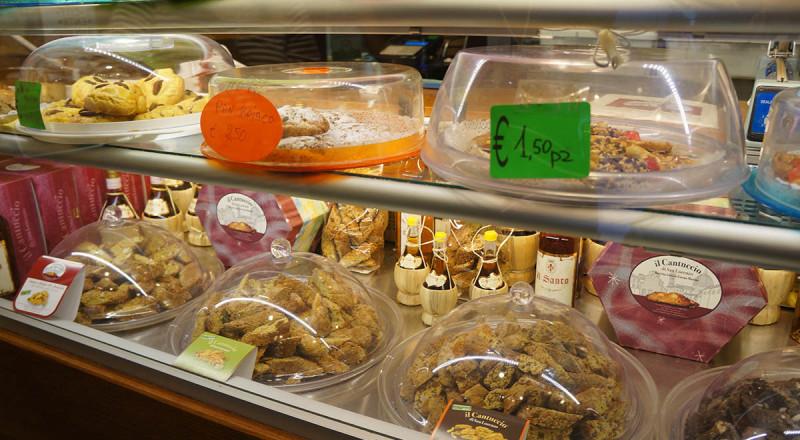 フィレンツェのお菓子屋さん、イル・カントゥッチョ