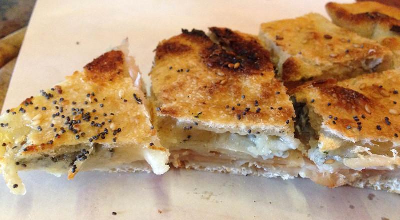 フィレンツェの切り売りピザ、ディビーナ