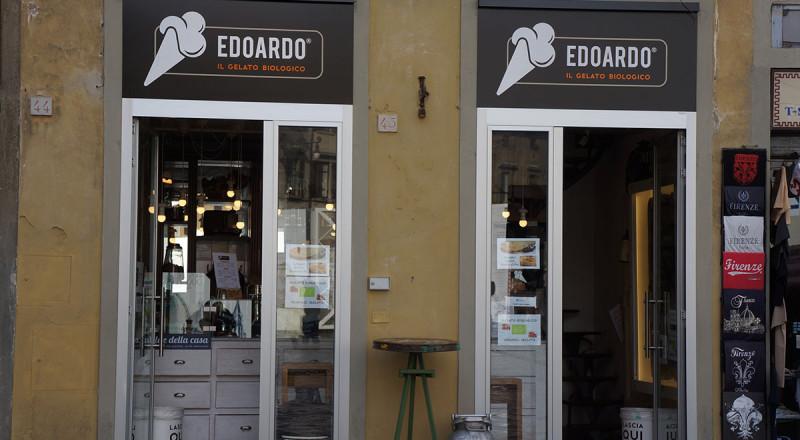 フィレンツェのジェラート屋さん、エドアルド