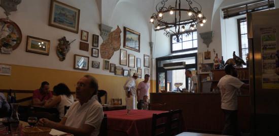 フィレンツェのトラットリア、ゴッツィ