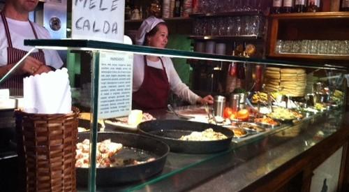フィレンツェのフォカッチャ屋さん、ボンディ