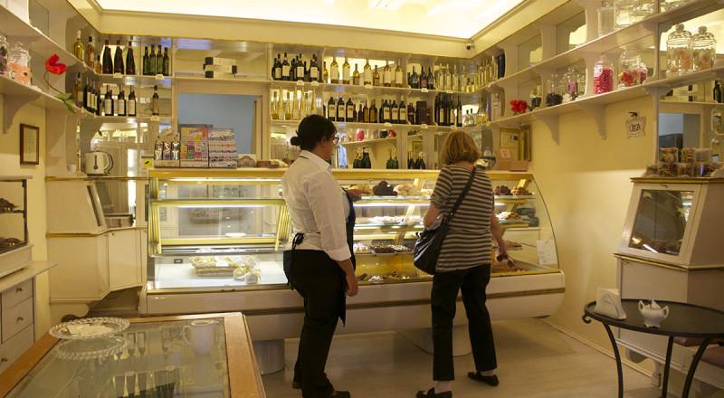 フィレンツェのお菓子屋さん、ドルチッシマ