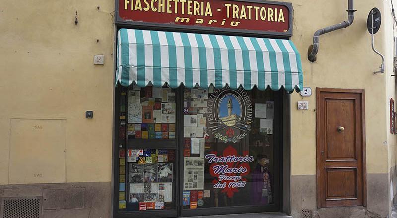 フィレンツェのトラットリア、マリオ