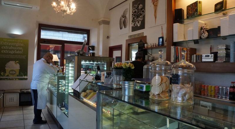 フィレンツェのジェラート屋さん、イル・レ・ジェラート