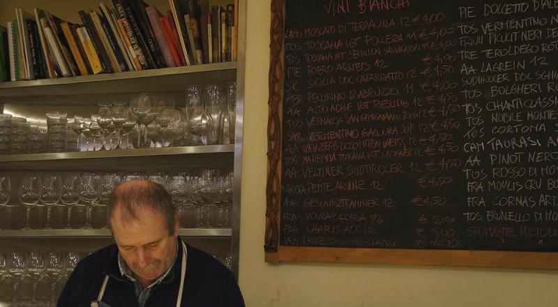 フィレンツェのエノテカ、ボルピ