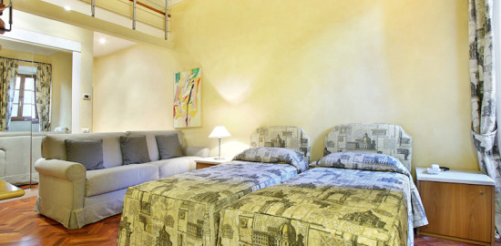 フィレンツェの滞在型アパート、ピッコロラージ
