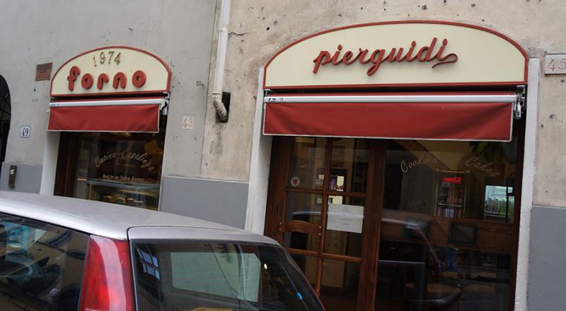フィレンツェのパン屋さんピエルグイーディ
