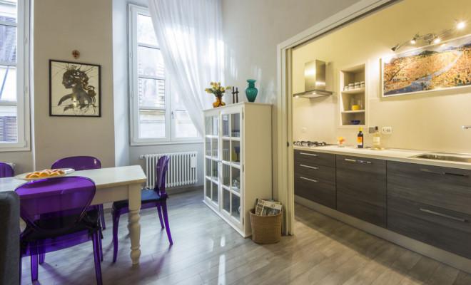 フィレンツェの寝室2部屋のアパート、セルヴィラグジュアリー
