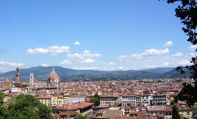 フィレンツェの絶景
