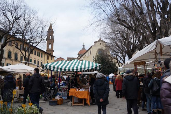 フィレンツェのオーガニック市、フィエルーコラ
