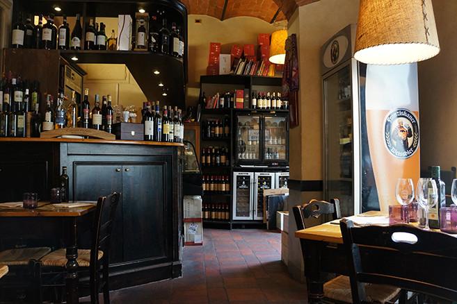 フィレンツェのレストラン、イル・マガッジーノ