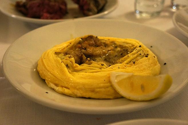 フィレンツェのレストラン、ラ・ソスタンツァ