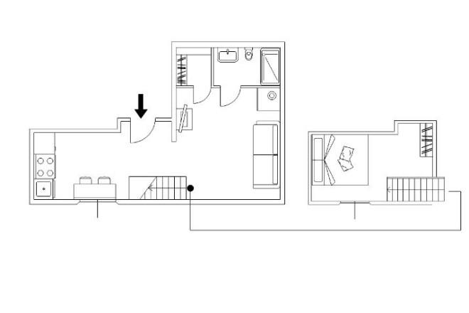 フィレンツェのアパート、コンティの寝室5