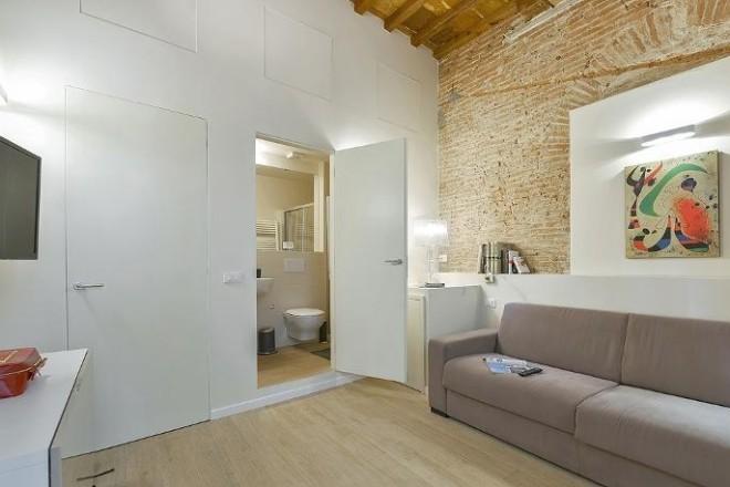 フィレンツェのアパート、コンティのリビング2