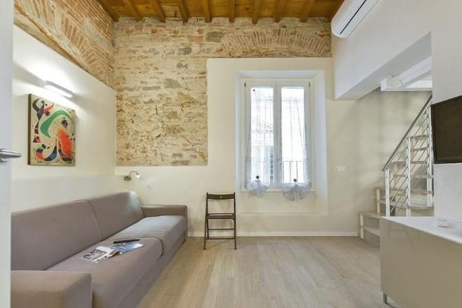 フィレンツェのアパート、コンティのリビング3