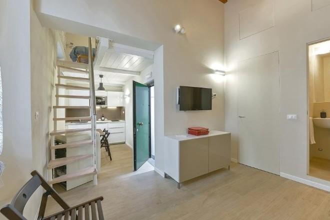 フィレンツェのアパート、コンティのキッチン