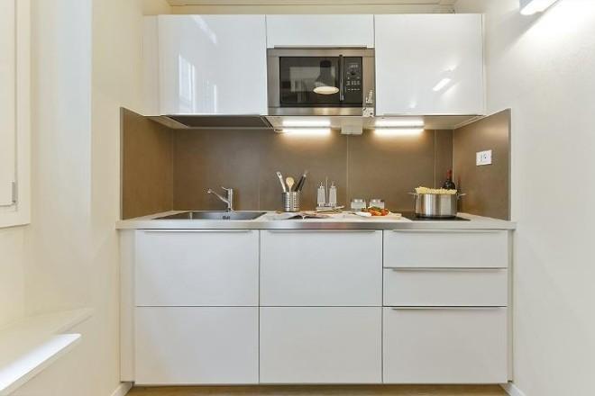 フィレンツェのアパート、コンティのキッチン4