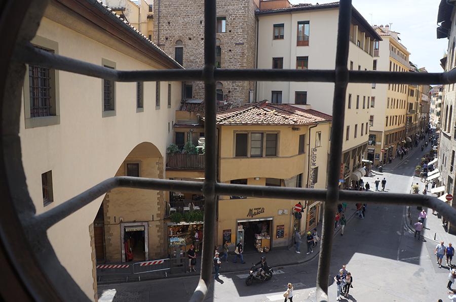 フィレンツェのヴァザーリの回廊ツアー