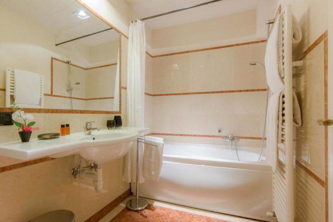 フィレンンツェの滞在型アパート、ドナテッロの浴室