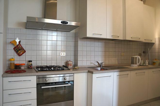 フィレンツェのアパート、フェデリギのキッチン