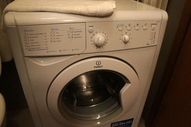 フィレンツェのアパート、フェデリギ洗濯機