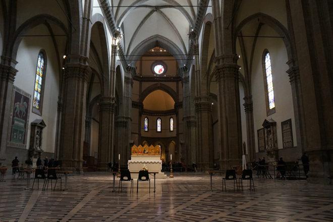 フィレンツェの大聖堂祭壇