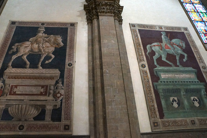 フィレンツェの大聖堂内部
