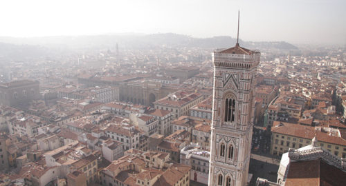 フィレンツェ、クーポラからの眺め