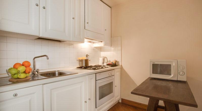 フィレンツェのアパート、サンマルコのキッチン