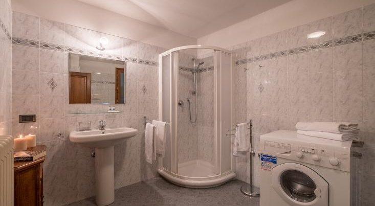 フィレンツェのアパート、シニョリーアビスタの浴室