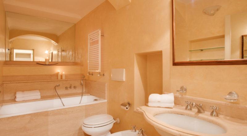フィレンツェのアパート、サンマルコの浴室