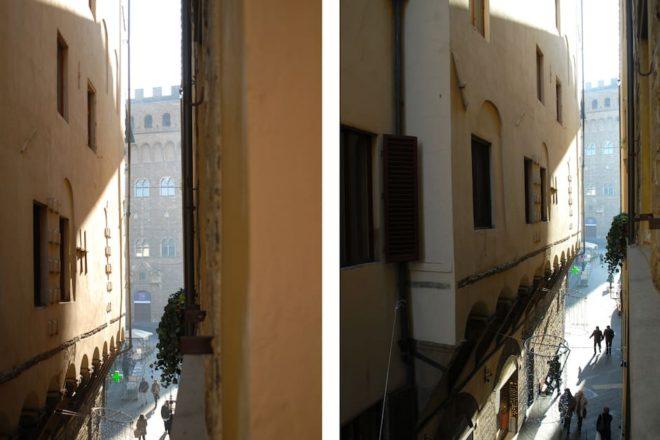 フィレンツェのアパート,チェルキの外