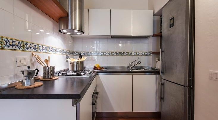 フィレンツェのアパート、テルメストゥーディオのキッチン