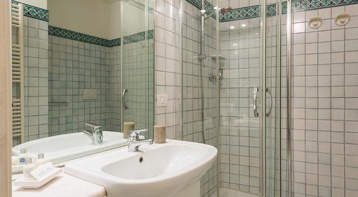 フィレンツェのアパート、テルメストゥーディオのシャワールーム