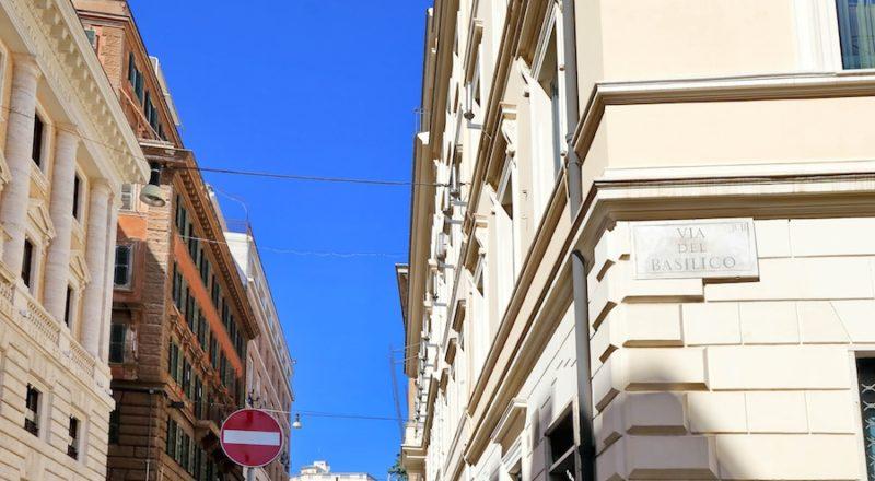 ローマの滞在型アパートバジリコ